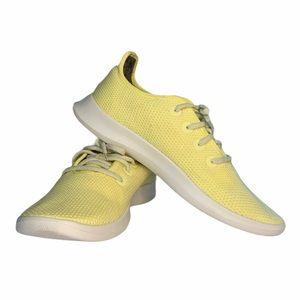 allbird Tree Runner Yellow Sneakers Shoes Men